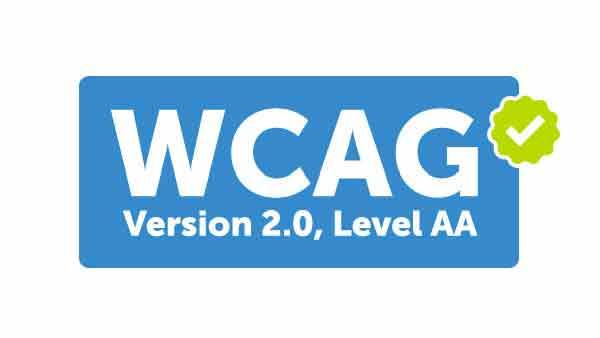Passes WCAG AA