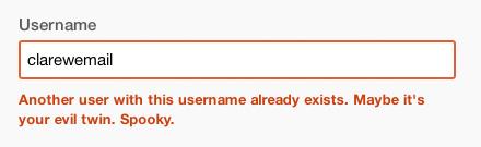 Mailchimp username