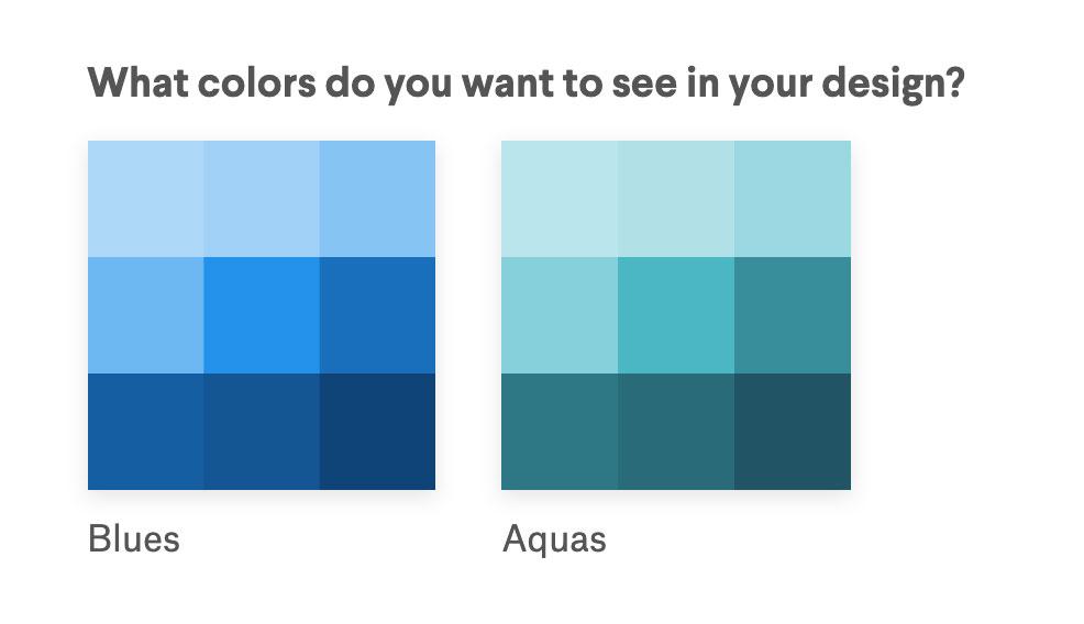 Picking a palette