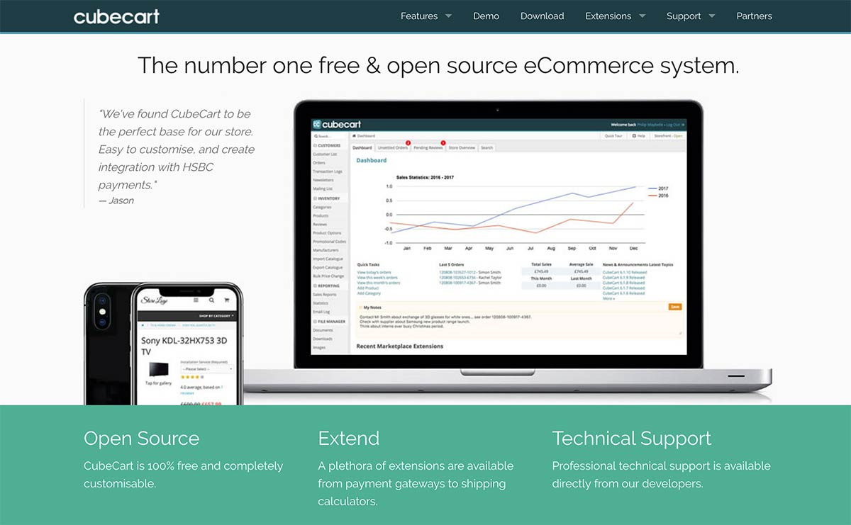CubeCart Opensource eCommerce