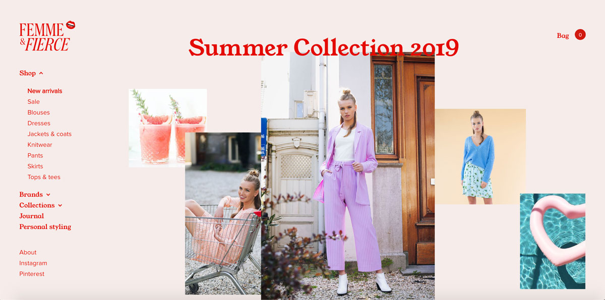 WooCommerce Examples - Femme and Fierce