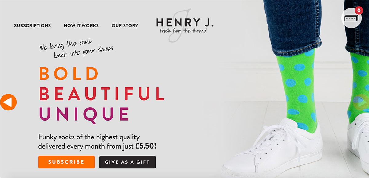 WooCommerce Examples - Henry J