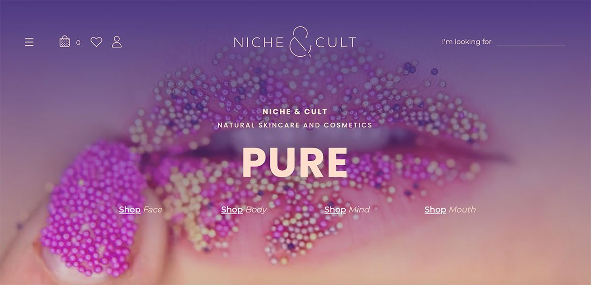 WooCommerce Examples - Niche and Cult