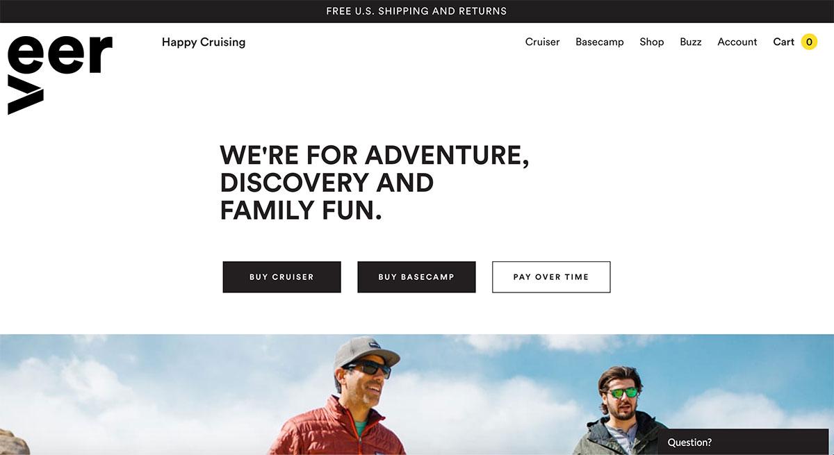 WooCommerce Examples - Veer Gear