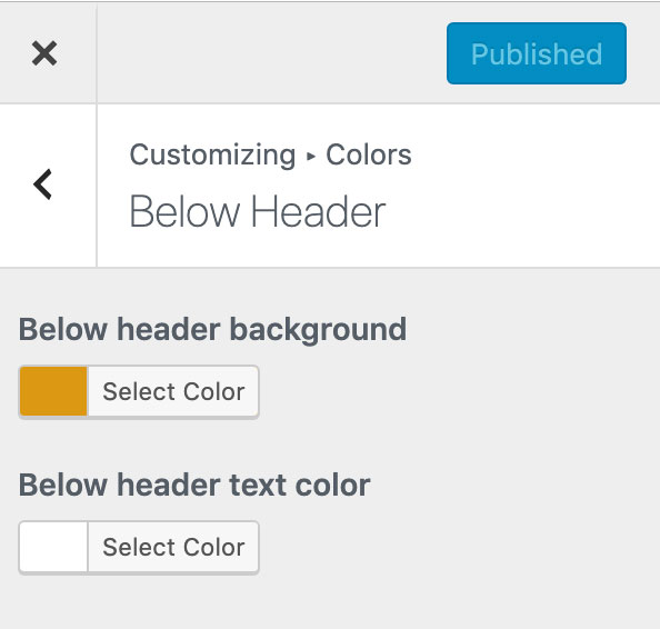 Edit the promotion bar colors