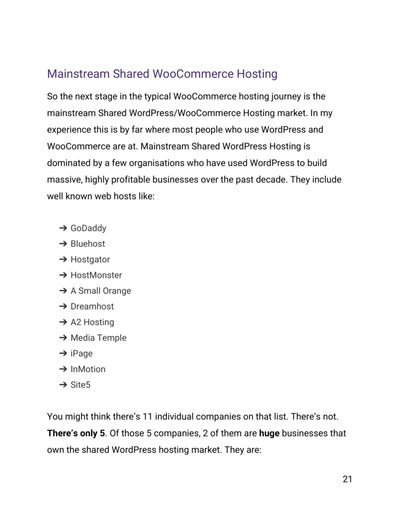Best WooCommerce Hosting Guide Page 21