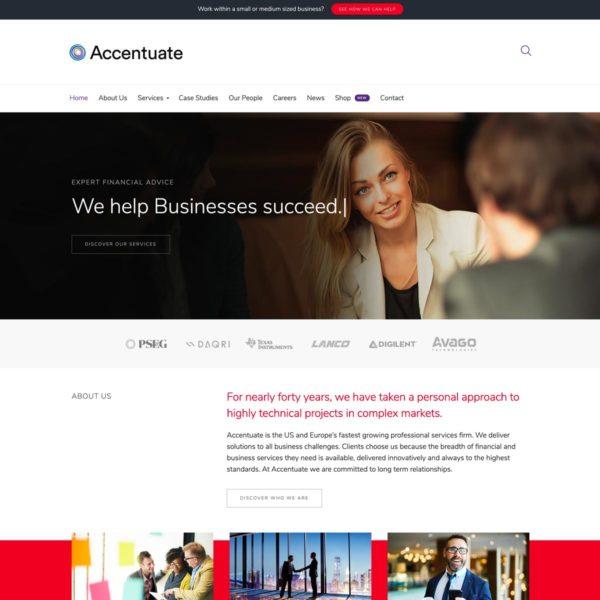 Accentuate WordPress Theme