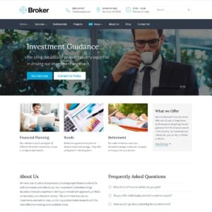 Broker WordPress Theme