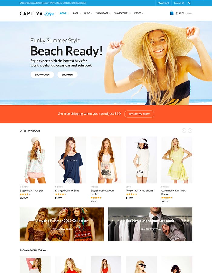 Captiva Homepage One