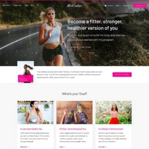 Motivator WordPress Theme