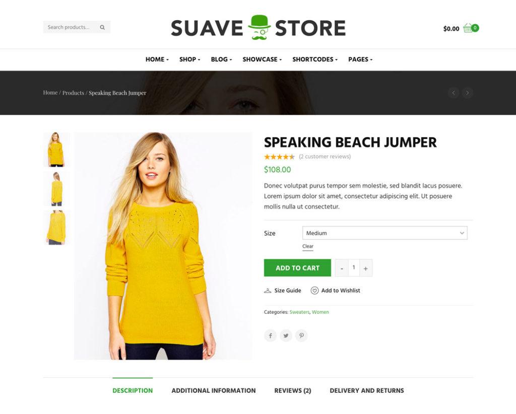 Suave product details