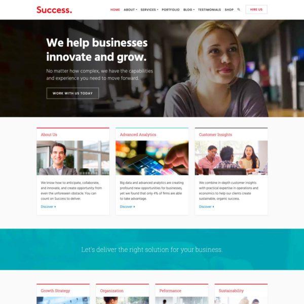 Success WordPress Theme