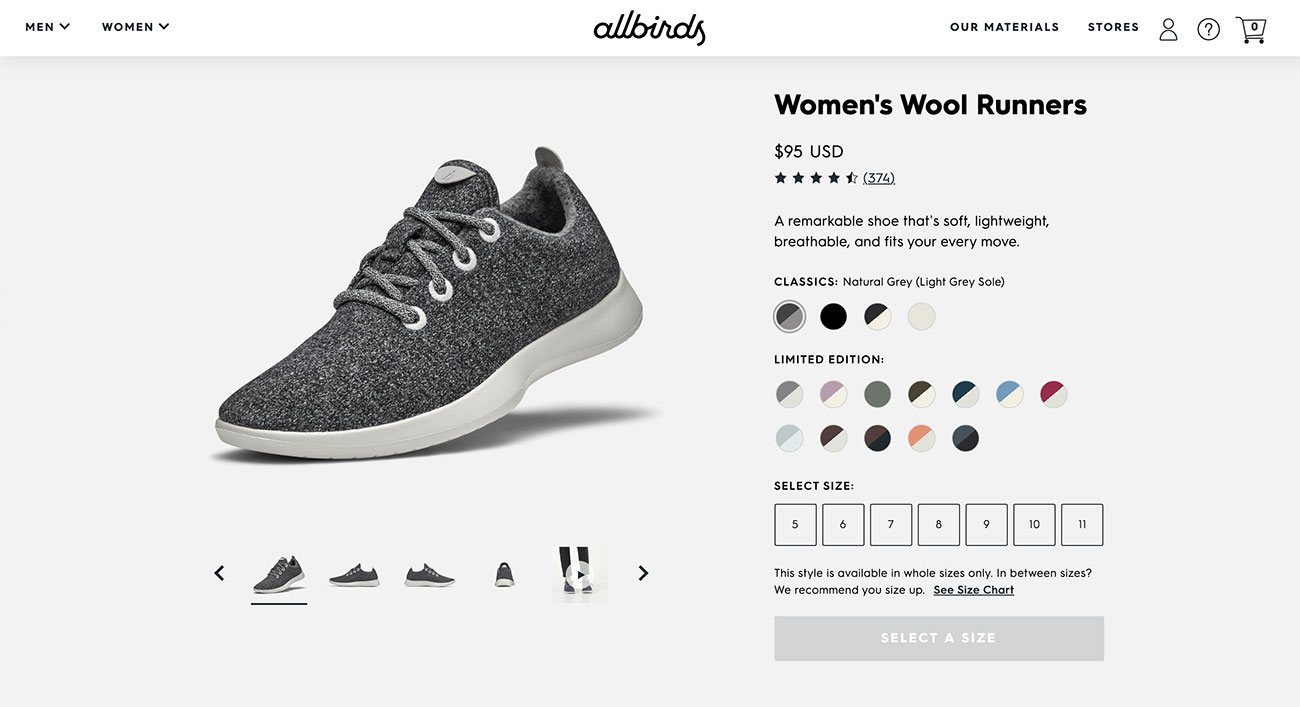 Color swatches for variations on product pages should always be added