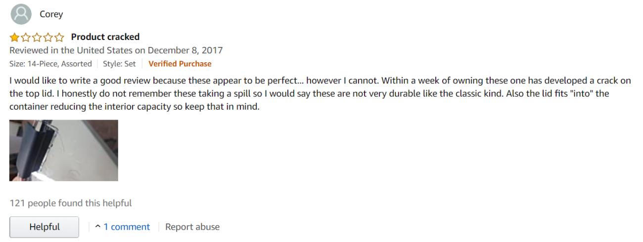 Good negative review