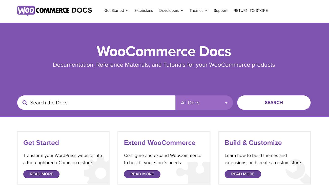 WooCommerce Docs