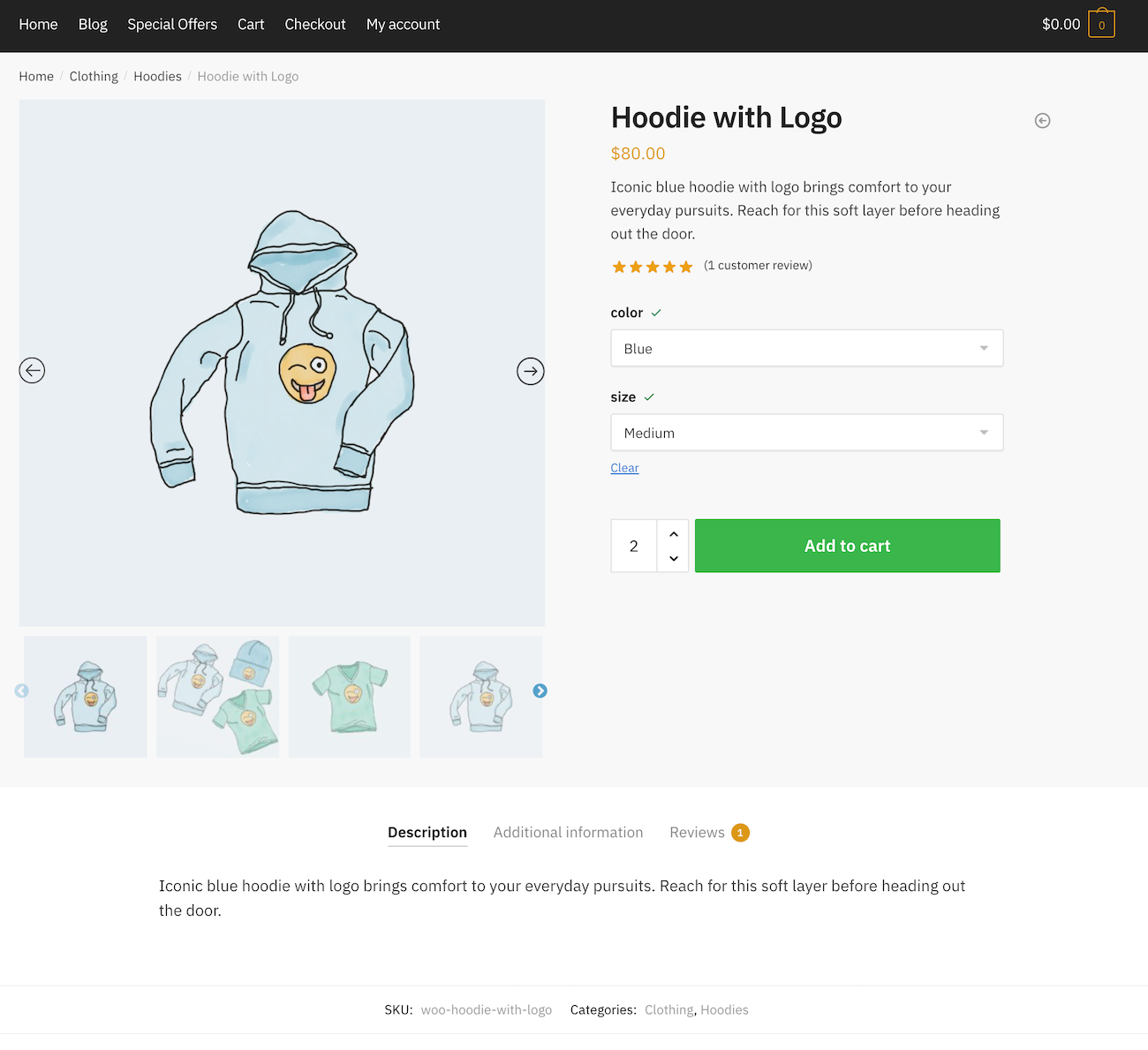 Product Gallery Slider for WooCommerce