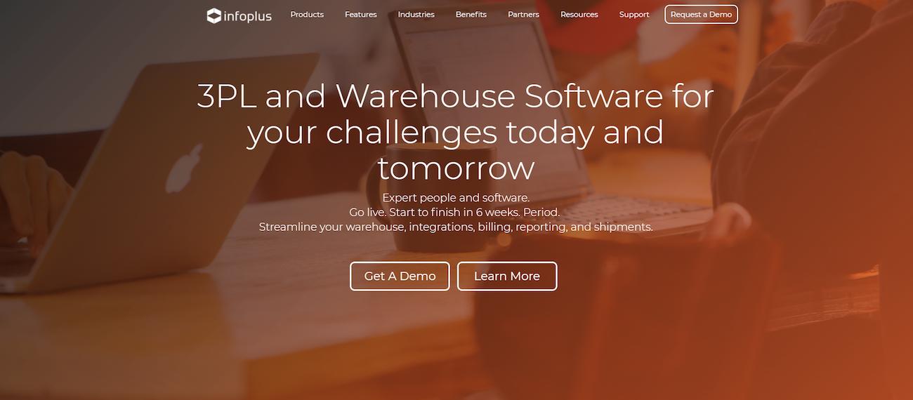Infoplus warehouse management system