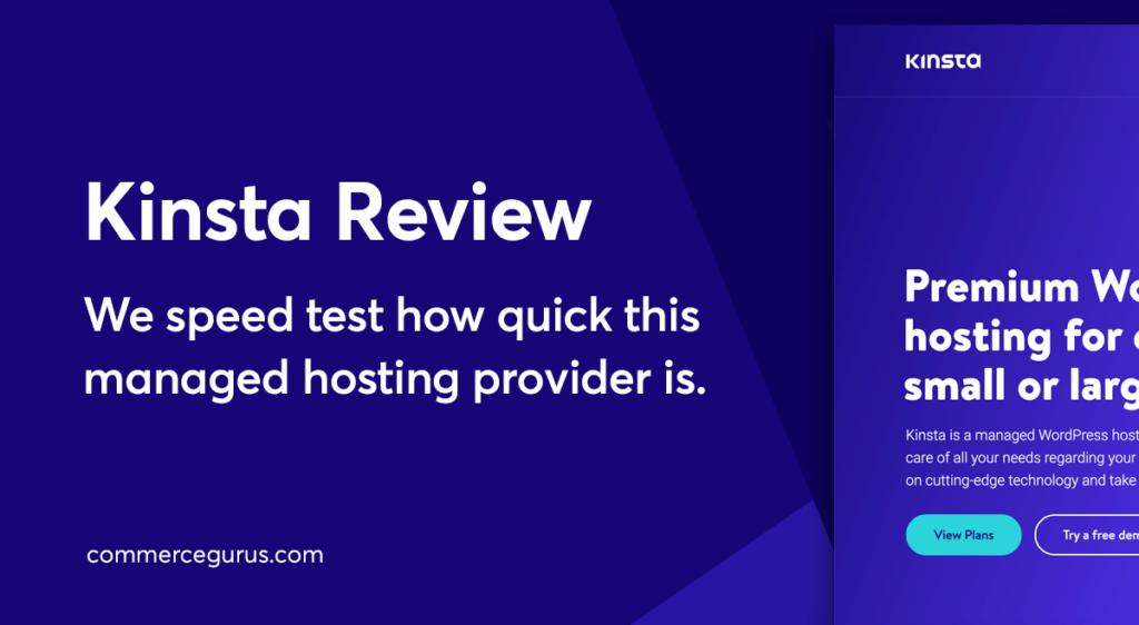 Kinsta Web Hosting Review
