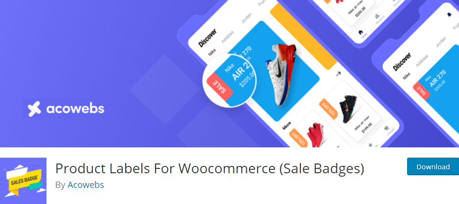 The Product Labels for WooCommerce (Sales Badges) plugin